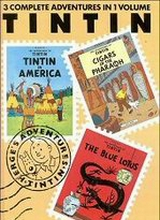 Little Brown: Tintin, The Adventures of 3in1 #1: The Adventures of Tintin 1