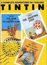 Little Brown: Tintin, The Adventures of 3in1 #3: The Adventures of Tintin 3