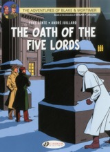 Cinebook: Blake and Mortimer (CB) #18: The Oath of the Five Lords