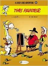 Cinebook: Lucky Luke (CB) #51: The Painter