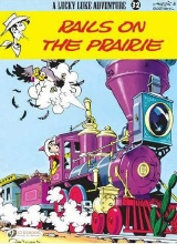 Cinebook: Lucky Luke (CB) #32: Rails on the Prairie