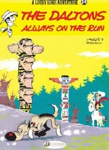 Cinebook: Lucky Luke (CB) #34: The Daltons Always on the Run