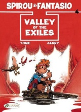 Cinebook: Spirou and Fantasio (CB) #4: Valley of the Exiles