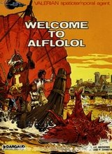 Dargaud: Valerian #4: Welcome to Alflolol