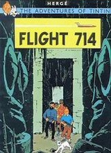 Egmont: Tintin, The Adventures of (Egmont) #22: Flight 714
