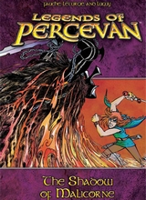 Fantasy Flight Publishing: Percevan, The Legend of #3: The Shadow Of Malicore