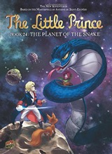 Graphic Universe: The Little Prince #24: The Planet of the Snake
