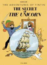 Little Brown: Tintin Giant Facsimile Edition #2: The Secret of the Unicorn