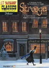 Papercutz: Classics Illustrated Deluxe #9: A Christmas Carol and Mugby Junction