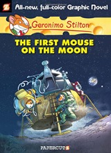 Papercutz: Geronimo Stilton #14: The First Mouse on the Moon
