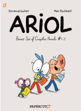 Papercutz: Ariol (Boxed Set) #1: Ariol Boxed Set 1-3