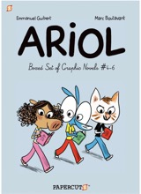 Papercutz: Ariol (Boxed Set) #2: Ariol Boxed Set 4-6