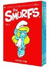 Papercutz: The Smurfs (Boxed Set) #2: The Smurfs Boxed Set 4 - 6