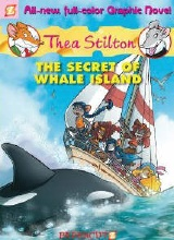 Papercutz: Thea Stilton #1: The Secret of Whale Island
