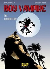 SAF Comics: Boy vampire #1: The Resurrection