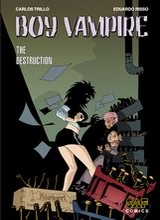 SAF Comics: Boy vampire #3: The Destruction