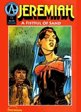 Jeremiah (Adventure) #3: A Fistful of Sand 1 [+1 magazines]