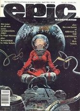 Epic Illustrated #17: 1983 #2 [+8 magazines]