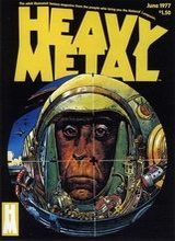 Heavy Metal #3: 1977 June [+7 magazines]