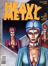 Heavy Metal #46: 1981 January [+3 magazines]