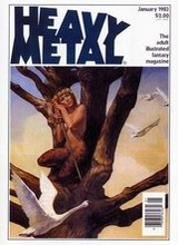 Heavy Metal #70: 1983 January [+5 magazines]