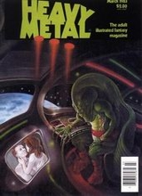 Heavy Metal #72: 1983 March [+6 magazines]