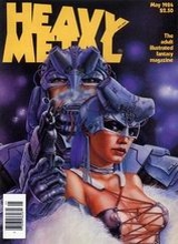 Heavy Metal #86: 1984 May