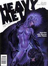 Heavy Metal #92: 1984 November [+4 magazines]
