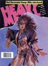 Heavy Metal #100: 1985 July [+4 magazines]