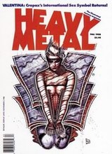 Heavy Metal #117: 1988 Fall [+4 magazines]