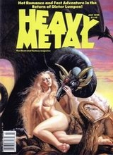 Heavy Metal #121: 1989 July