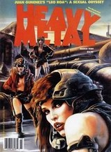 Heavy Metal #119: 1989 March [+2 magazines]