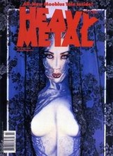 Heavy Metal #125: 1990 March