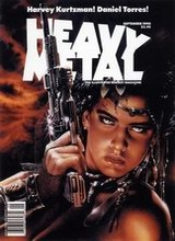 Heavy Metal #128: 1990 September