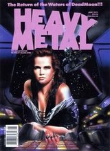 Heavy Metal #132: 1991 May