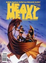 Heavy Metal #134: 1991 September