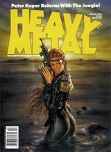 Heavy Metal #137: 1992 March
