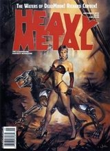 Heavy Metal #140: 1992 September