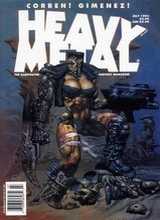 Heavy Metal #145: 1993 July