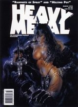 Heavy Metal #143: 1993 March