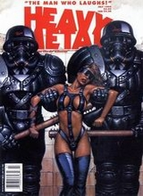 Heavy Metal #151: 1994 July [+3 magazines]