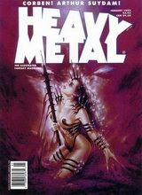Heavy Metal #154: 1995 January [+5 magazines]