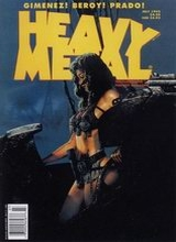 Heavy Metal #157: 1995 July