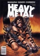 Heavy Metal #159: 1995 November