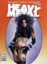 Heavy Metal #158: 1995 September [+7 magazines]