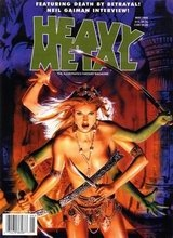Heavy Metal #174: 1998 May
