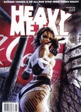 Heavy Metal #178: 1999 January