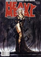 Heavy Metal #190: 2001 January