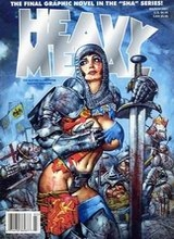 Heavy Metal #191: 2001 March