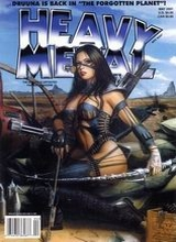 Heavy Metal #192: 2001 May